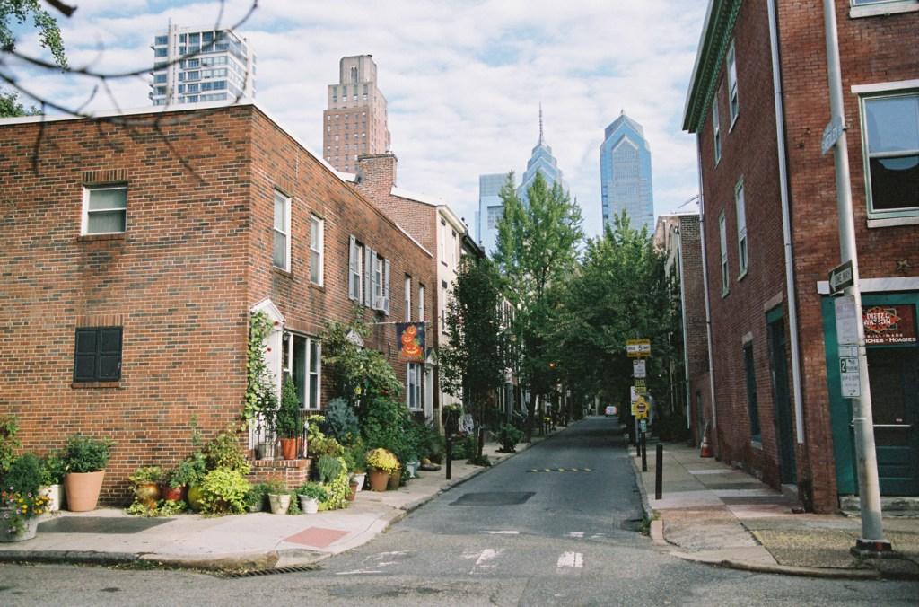 October in Philadelphia