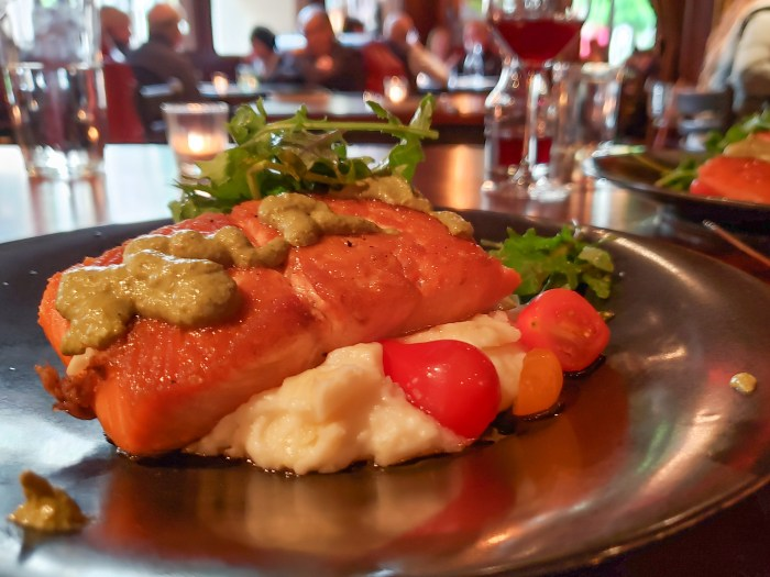 Salmon Special at Cultura