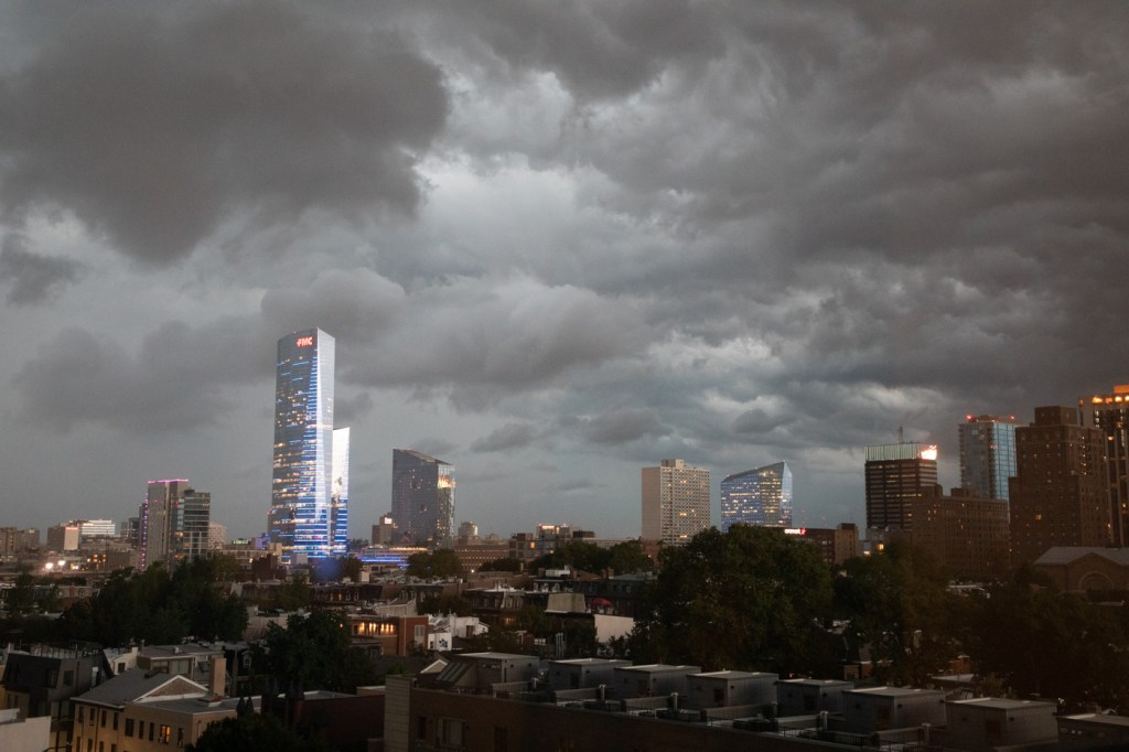Philly Storm Clouds