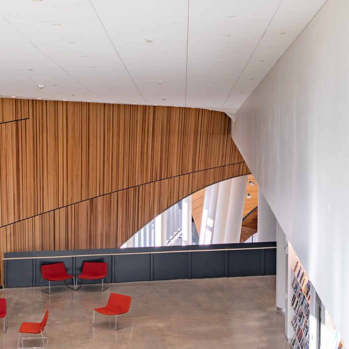 Third Floor Reading Area at Charles Library
