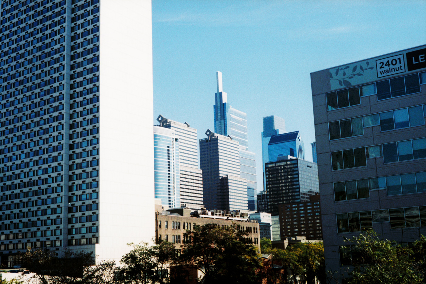 2400 Market Street and the Comcast Buildings