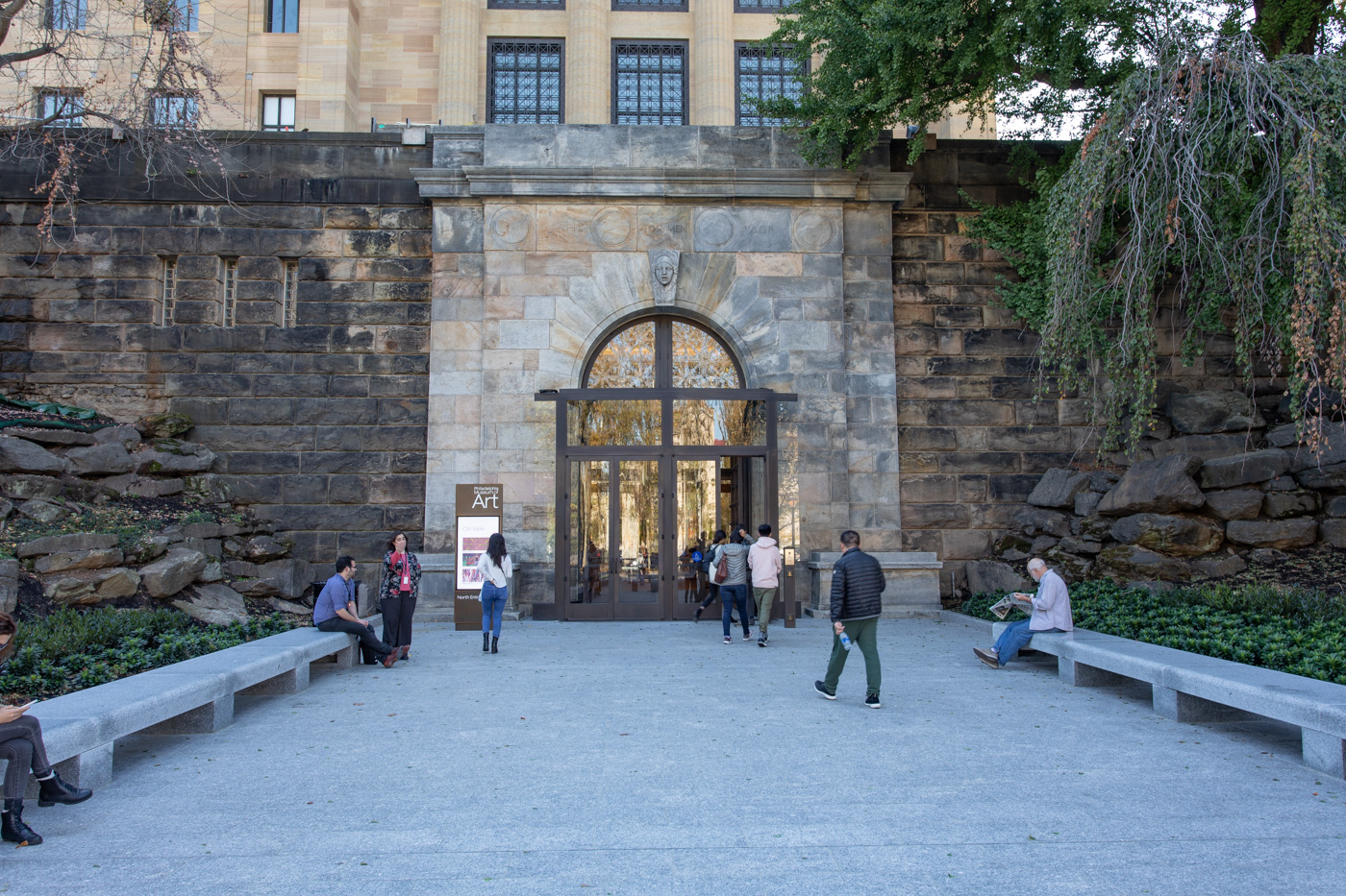 New North Entrance to the Philadelphia Museum of Art
