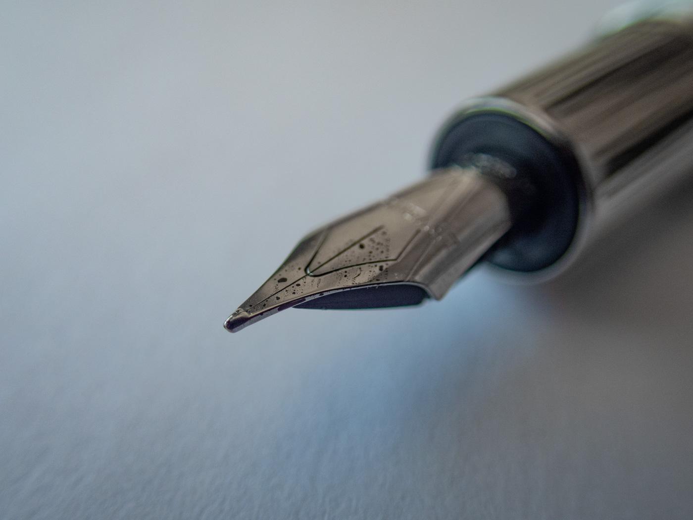 True Writer Pinstripe Guilloche Fountain Pen