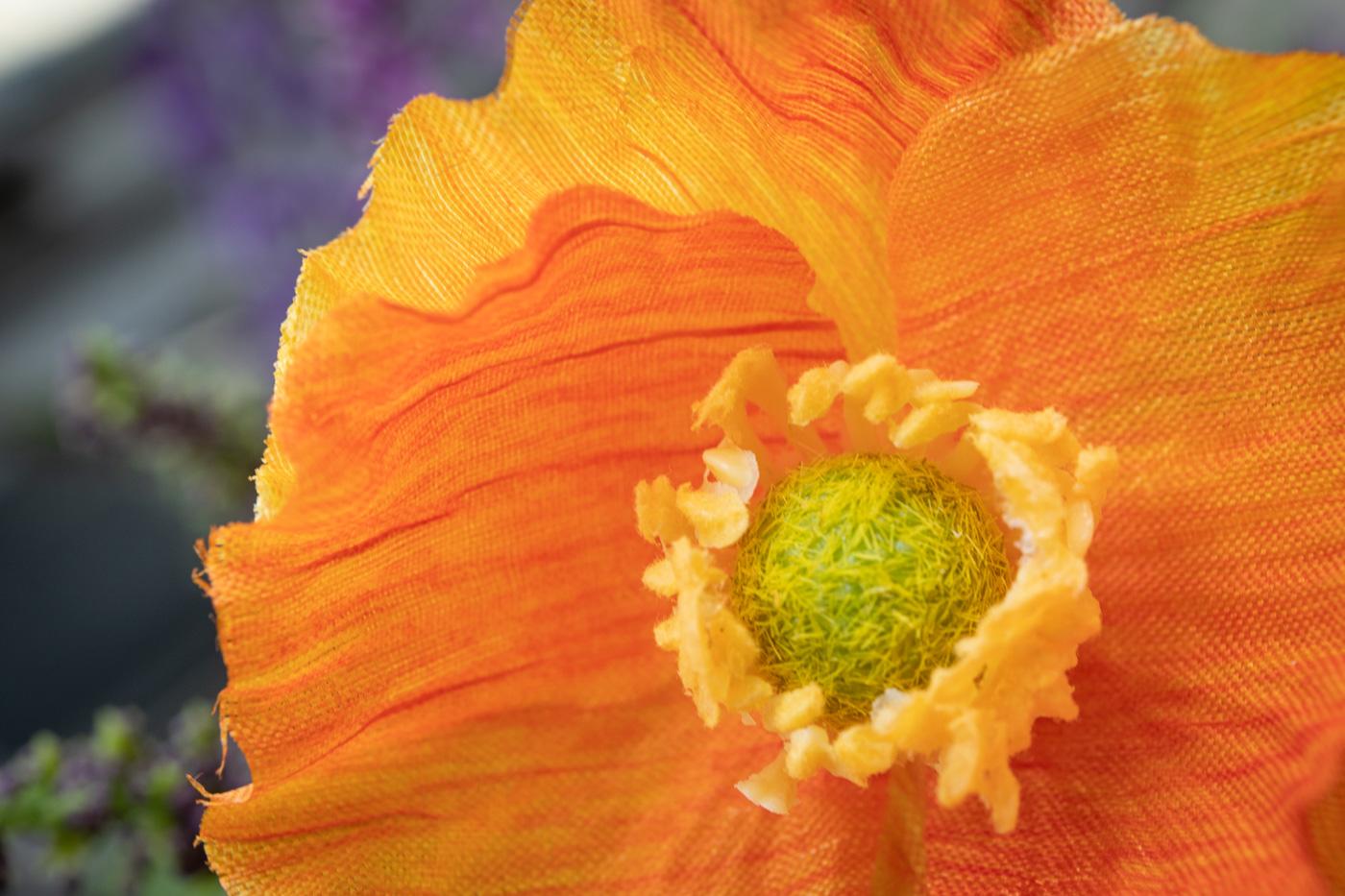 Macro Faux Flowers