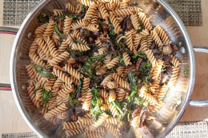 Roasted Mushroom Pasta
