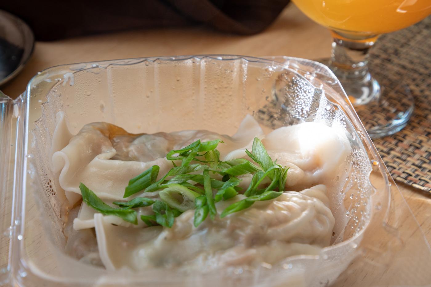 Steamed Vegetable Dumplings from SouthGate