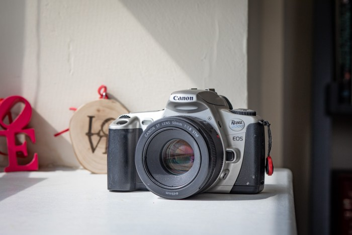 Canon EOS Rebel 2000 with Canon EF 50mm f/1.8 Lens