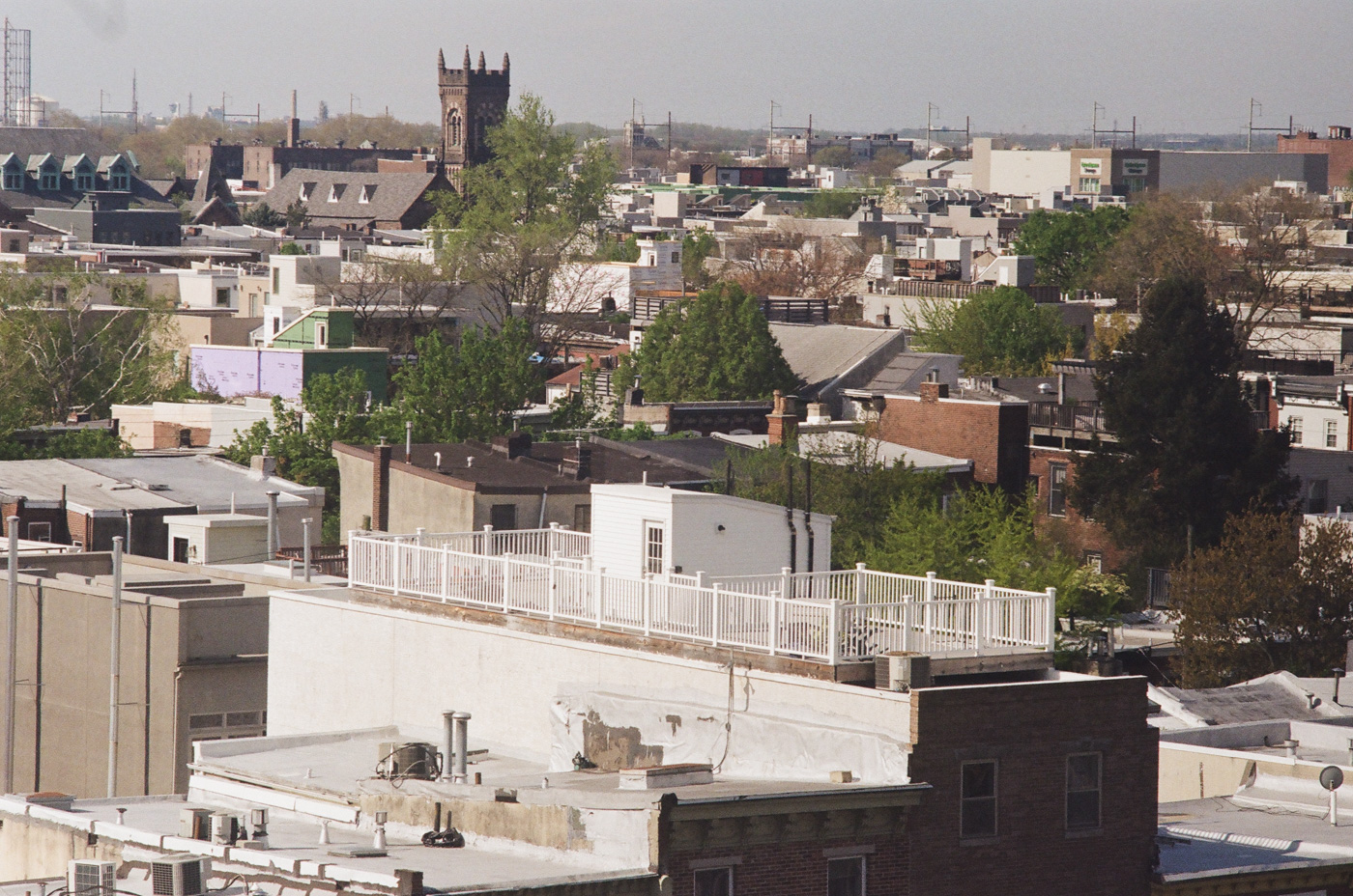 Roof Decks and Shiloh Baptist Church