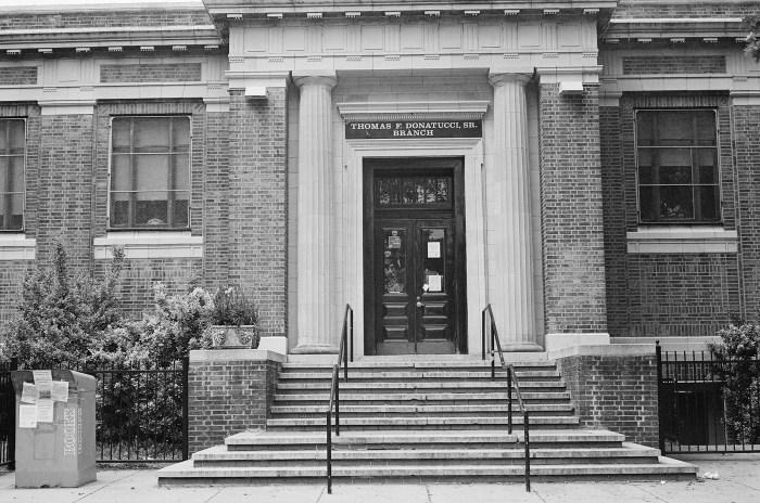 Thomas F. Donatucci Sr. Branch Library