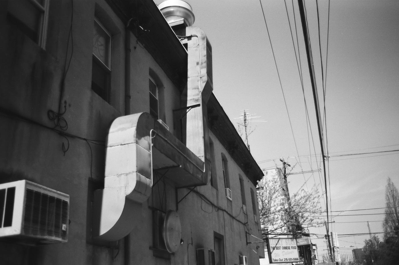 Exterior Ductwork