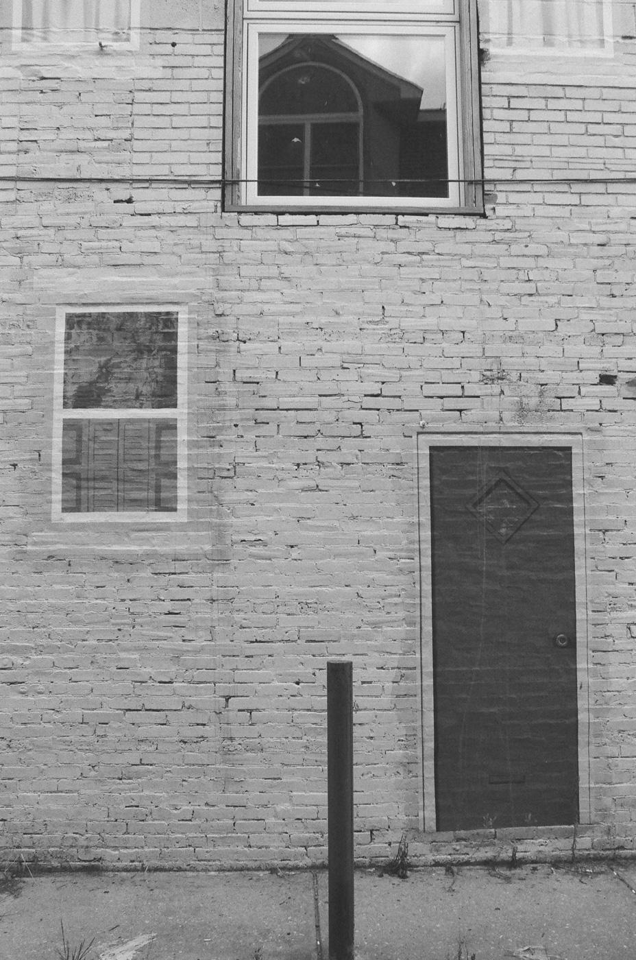 Fake Door and One Fake Window