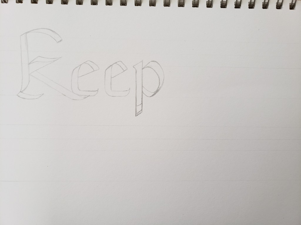 Keep Cool But Care first draft