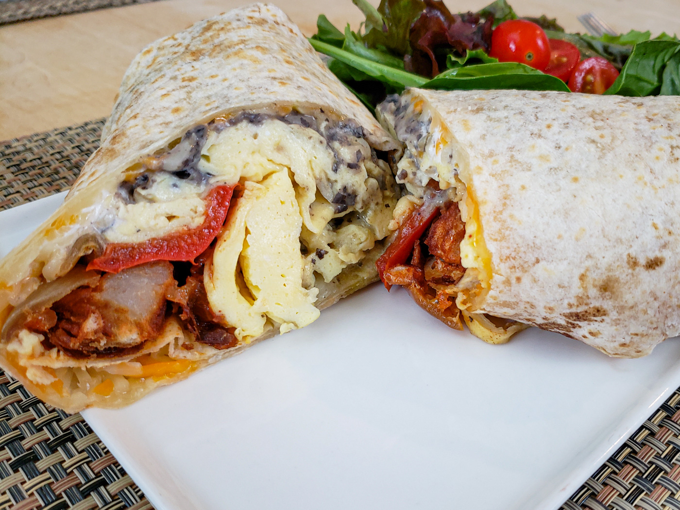 Breakfast Burrito from Sidecar Bar and Grille