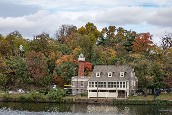 Boathouse Row in Autumn