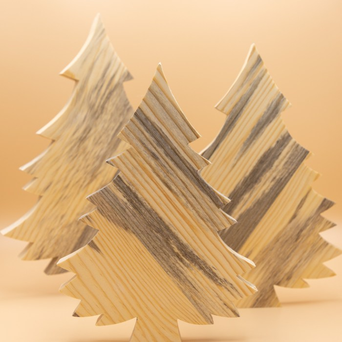 Wooden Christmas Trees