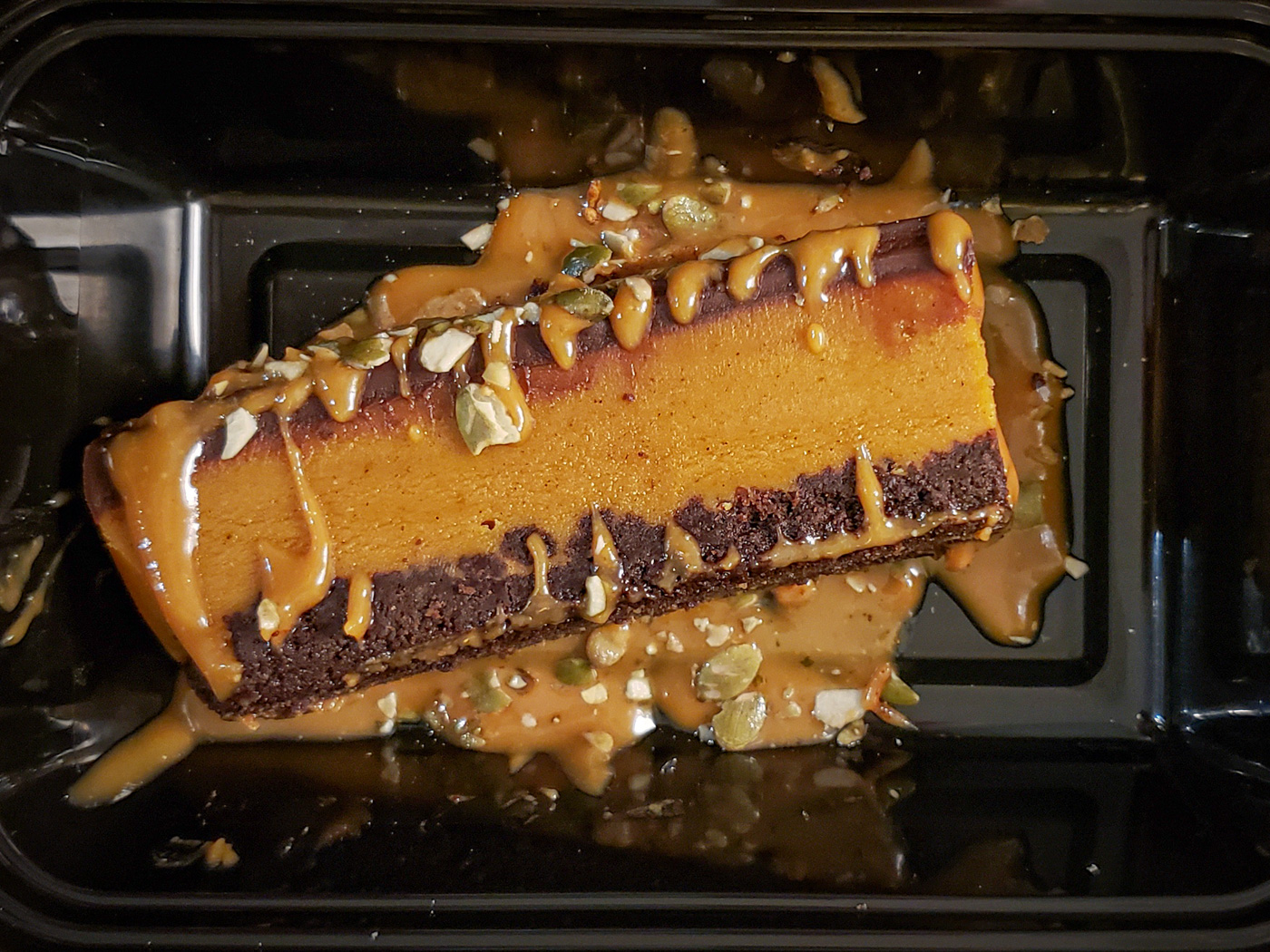 Chocolate Pumpkin Fudge Bar from Vedge