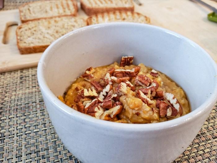 Millet and Sweet Potato Porridge