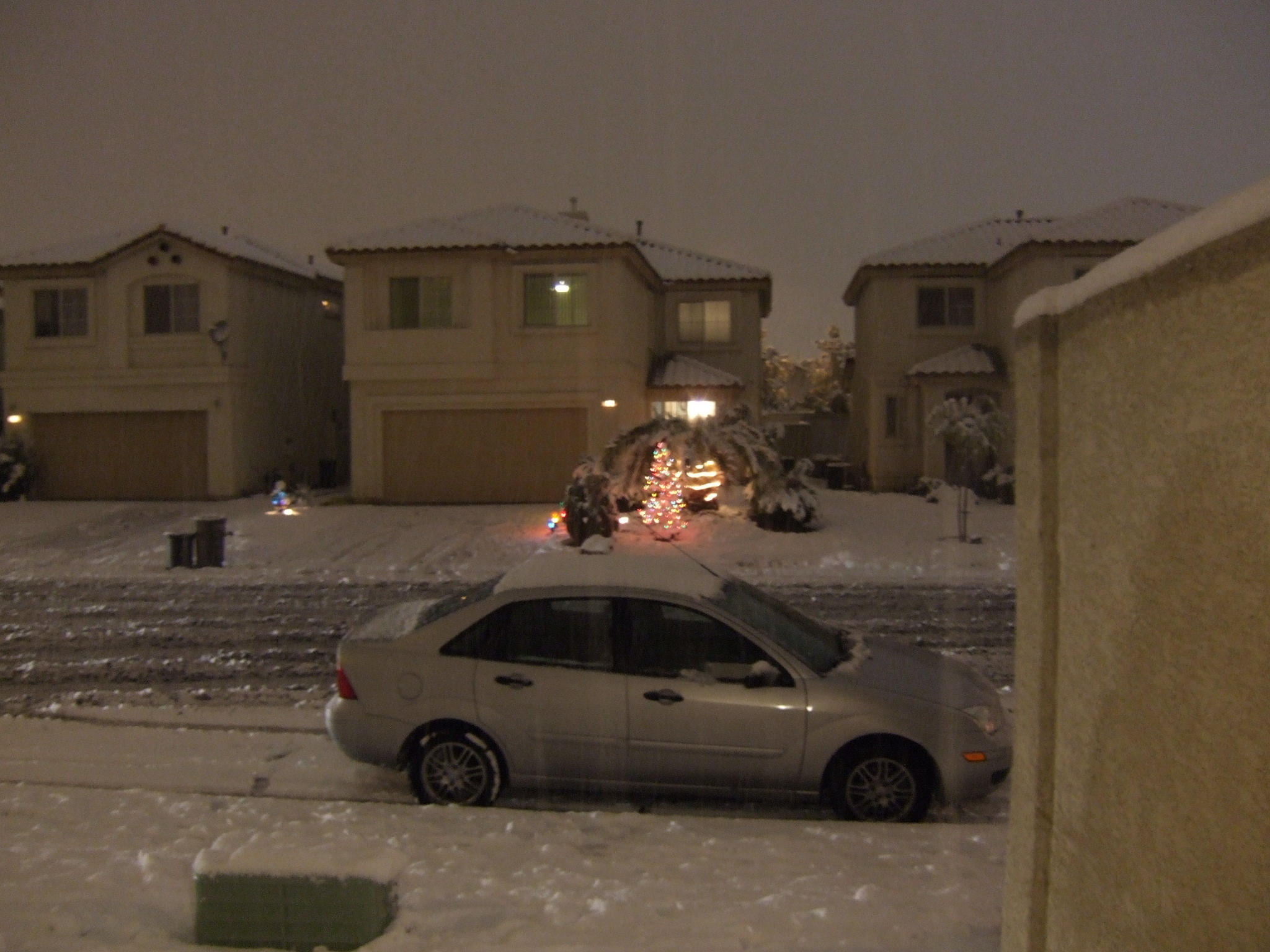 Las Vegas Snow December 2008