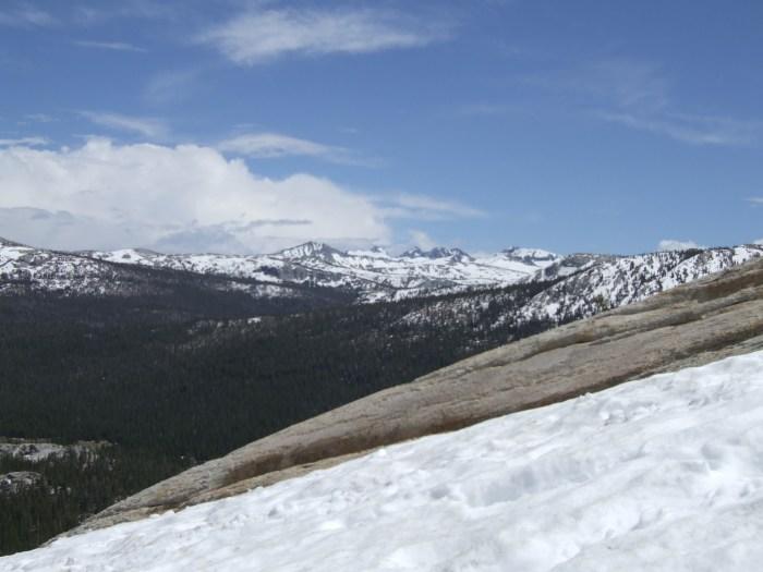 Snow in Yosemite May 2009