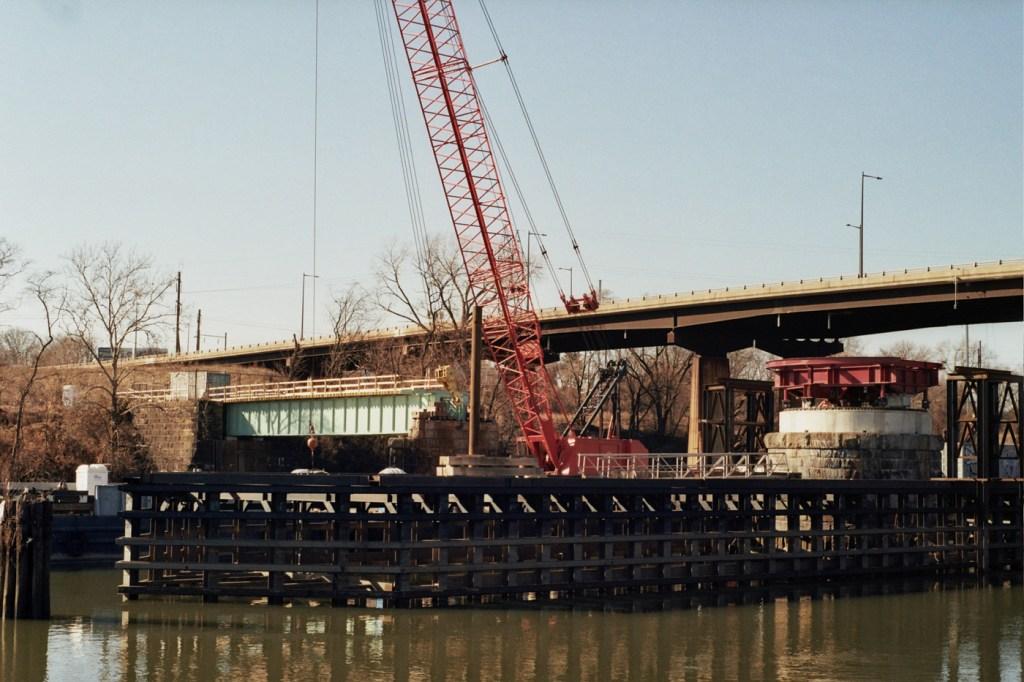 Schuylkill Crossing at Grays Ferry Construction