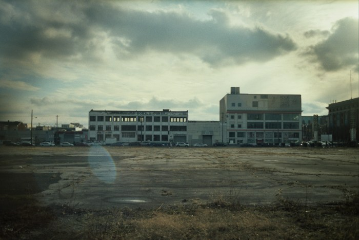 Empty Lot and Abandoned Building