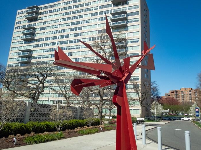 Sculpture at Park Towne Place