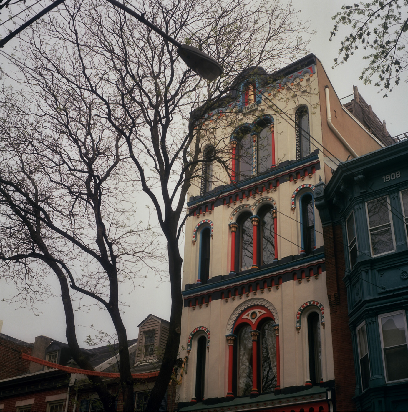 Colorful Philly House