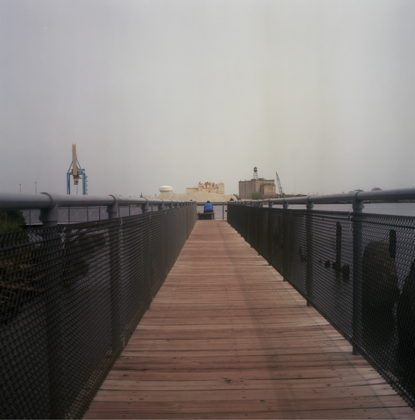 Pier at the Delaware River