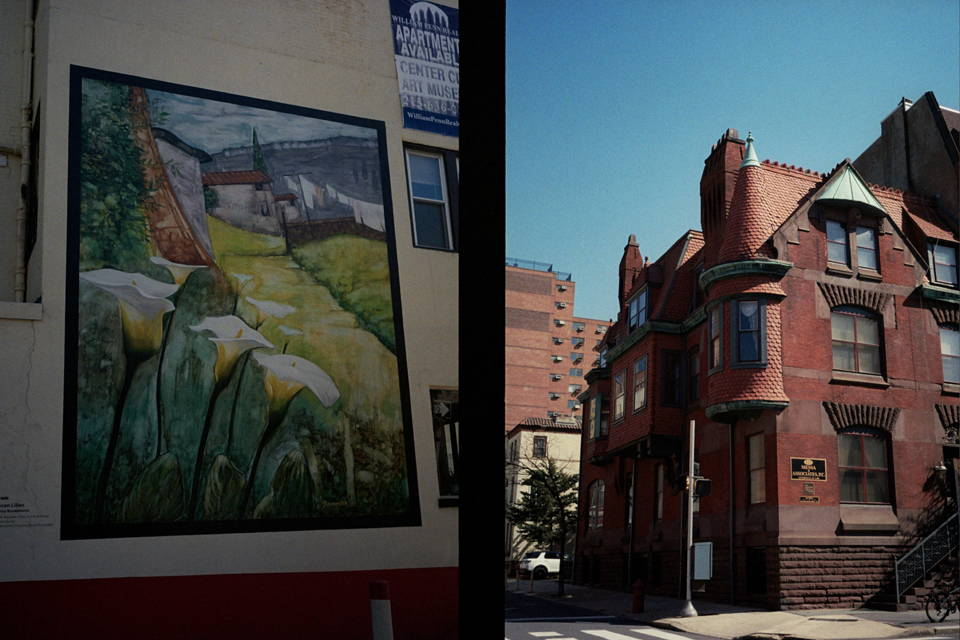 Philly Mural and House