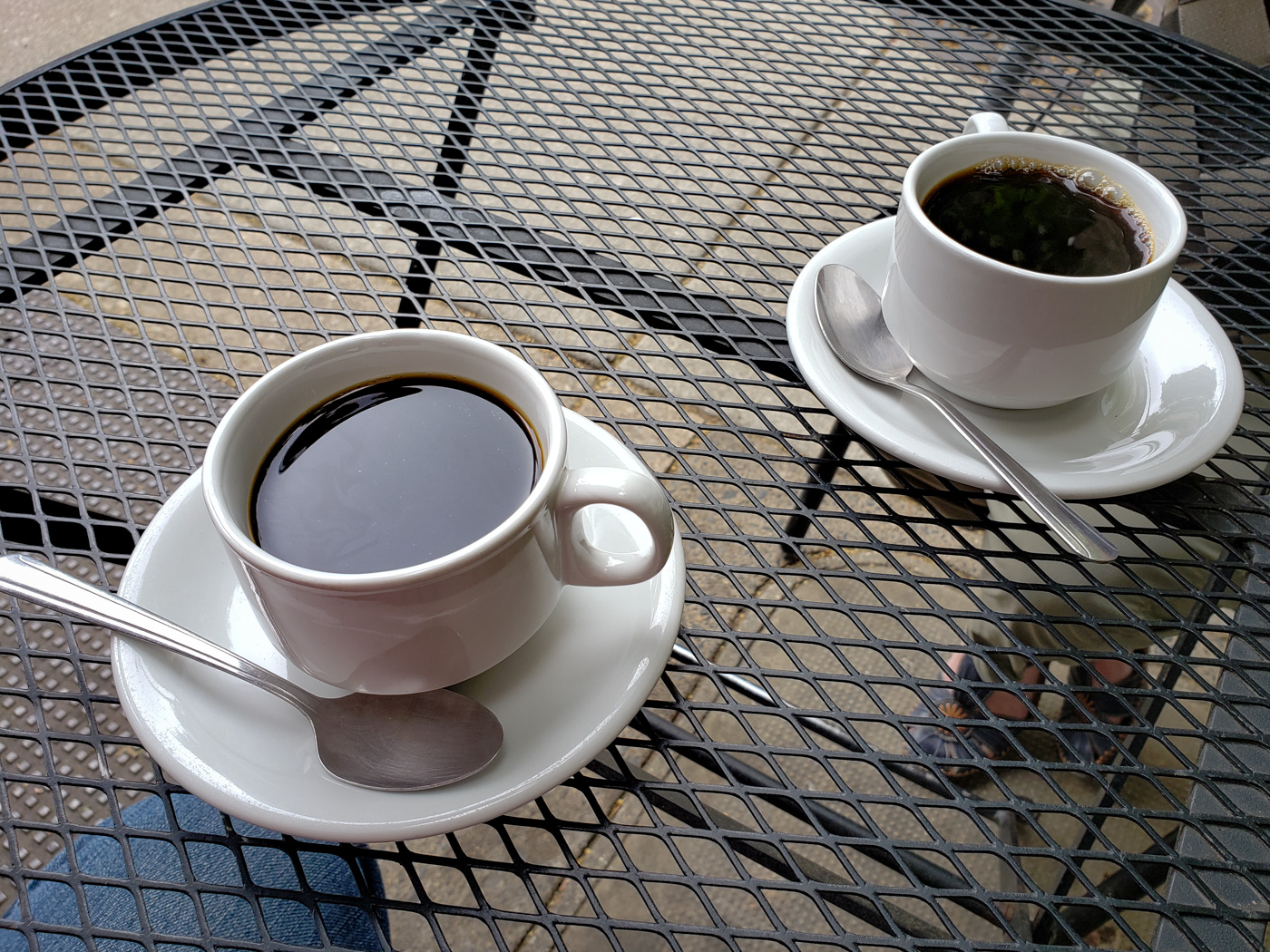 Coffee at Cafe Lutecia