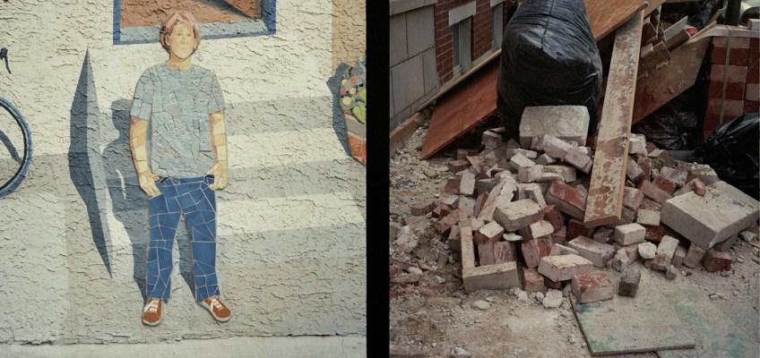 Dude Mosaic and Detritus