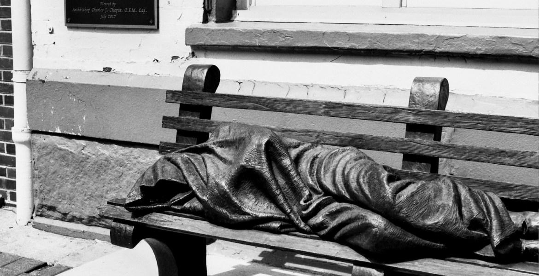 Homeless Jesus by Timothy P. Schmalz