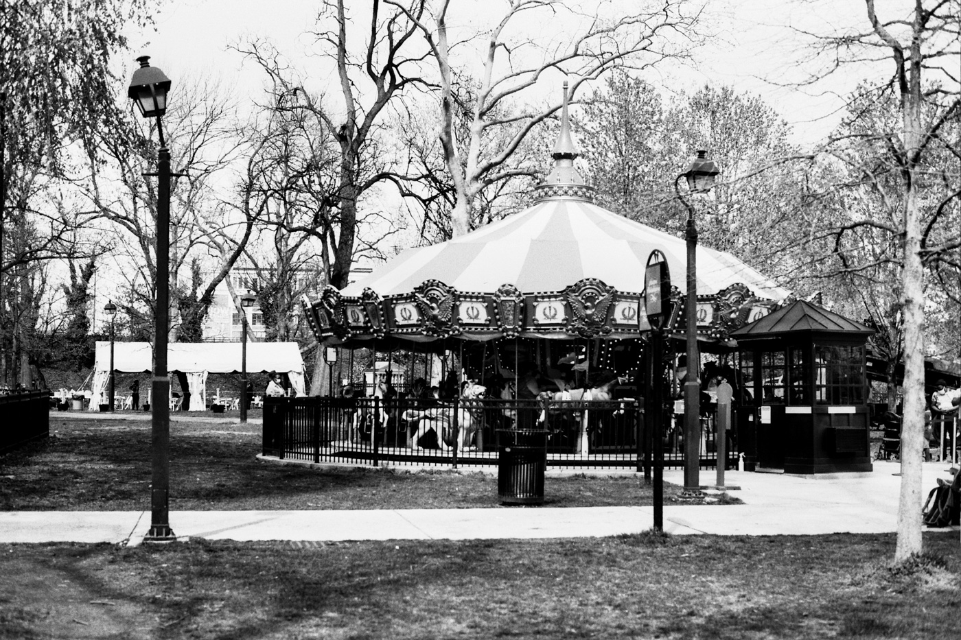 Carousel at Franklin Square