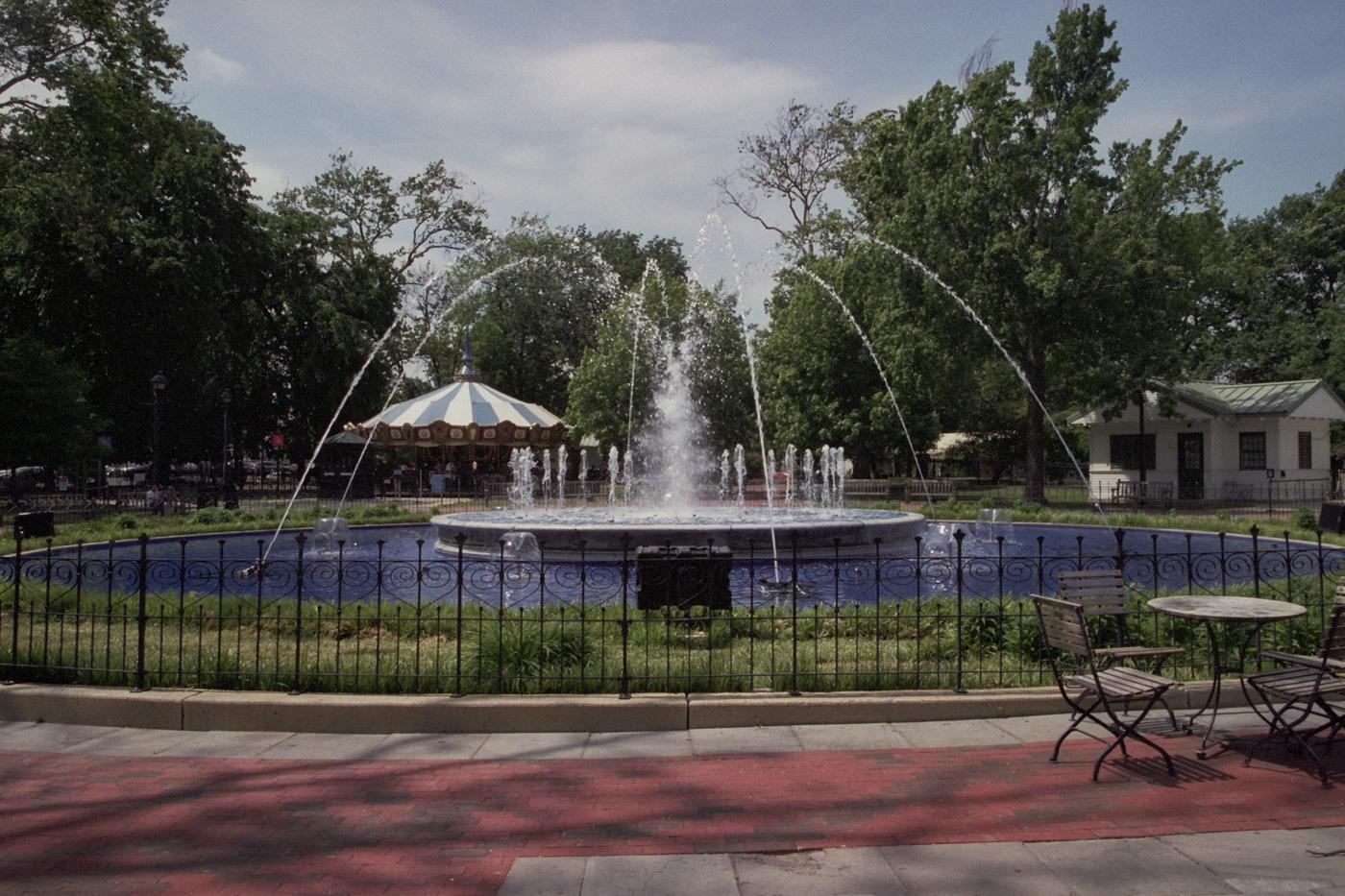 Fountain at Franklin Square