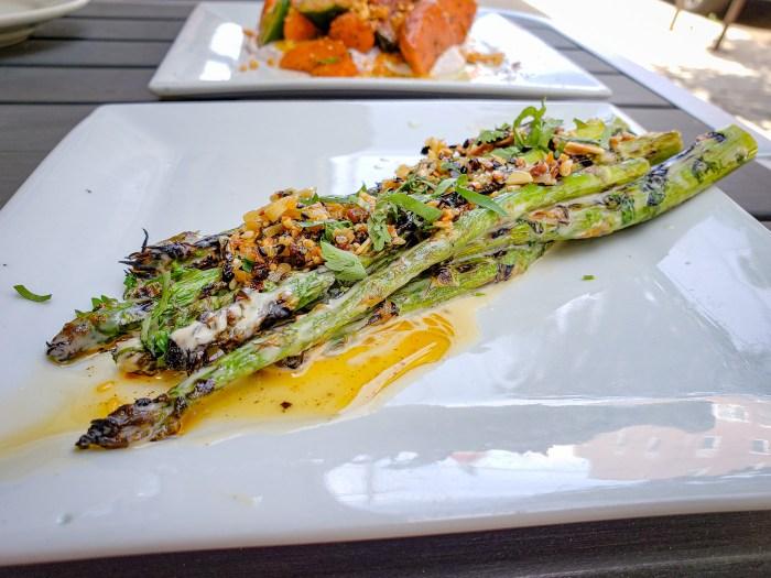 Grilled Asparagus at American Sardine Bar