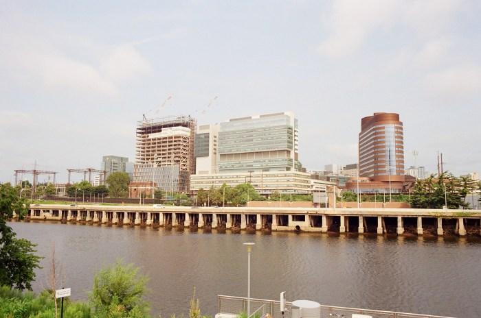 Building Construction across the Schuylkill River