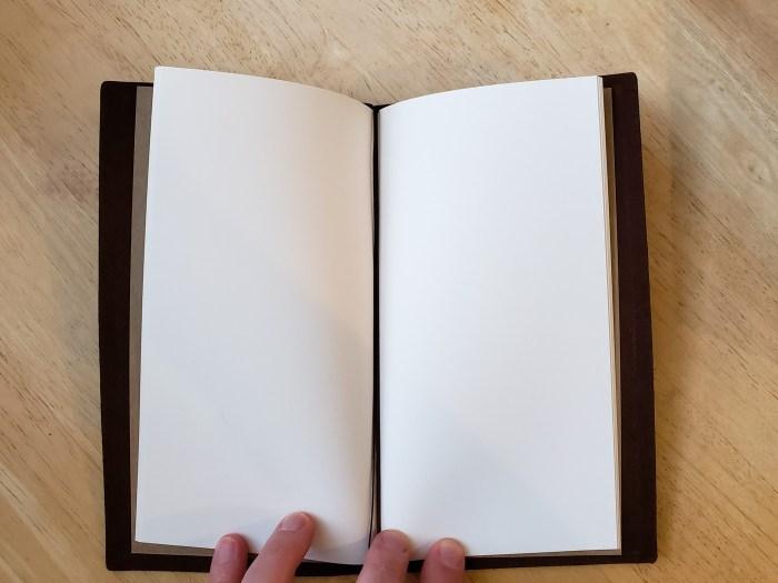 Traveler's Blank TRC 003 Notebook