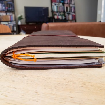 First Impressions of My Traveler's Notebook