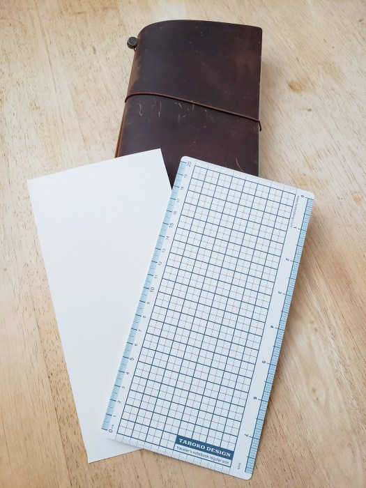 Traveler's Notebook Blotter and Pencil Board