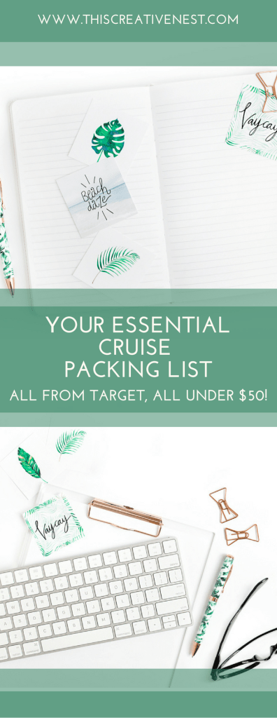 Cruise Packing List from Target