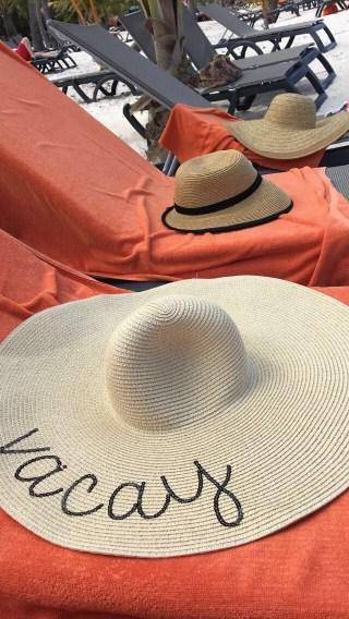 Beach hat Punta Cana Vacation