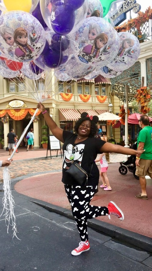 Balloons and fun and Disney World