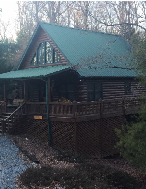 Blue Ridge Mountain Cabin