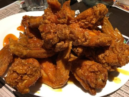 Dallas BBQ Sticky Wings