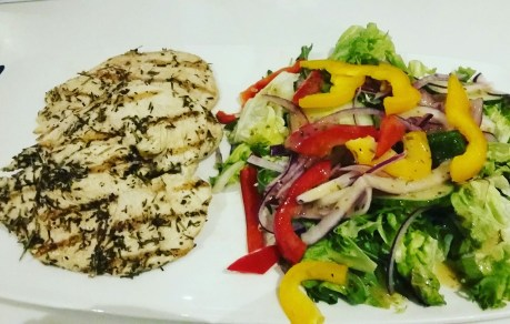 low_carb_chicken_and_salad bulking diet