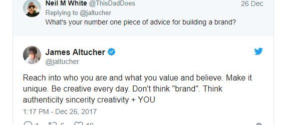 what I learned about branding james altucher podcast