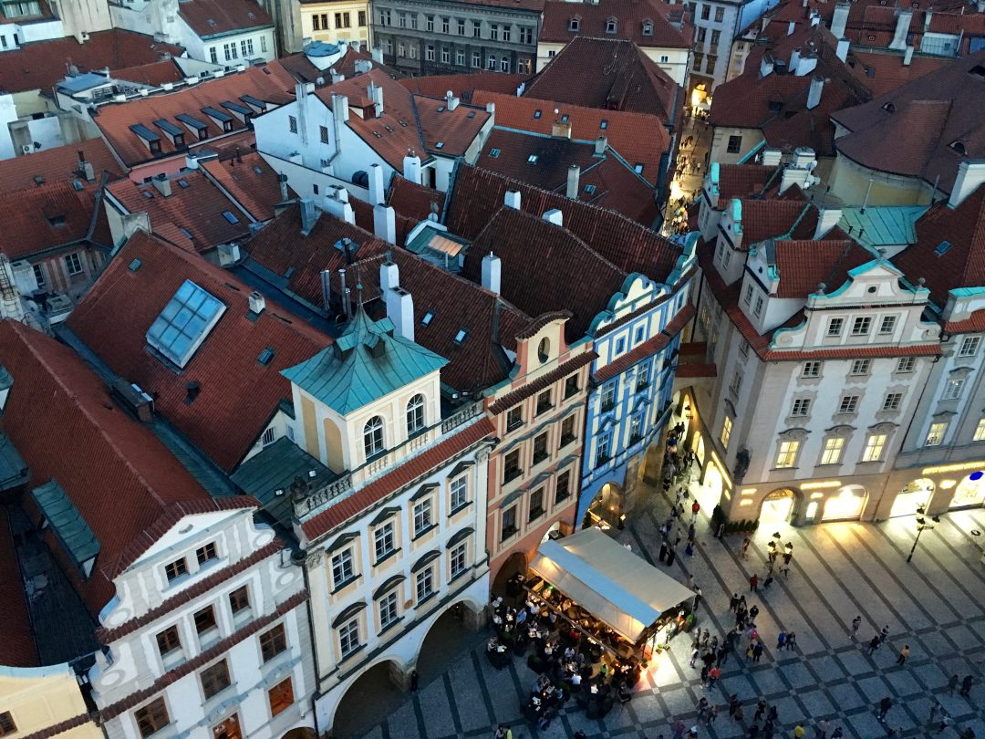 Prague from the tower 2106