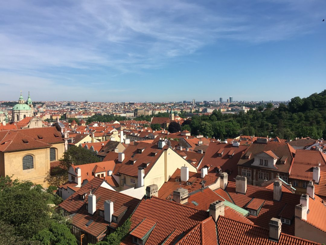 rooftop views in prague