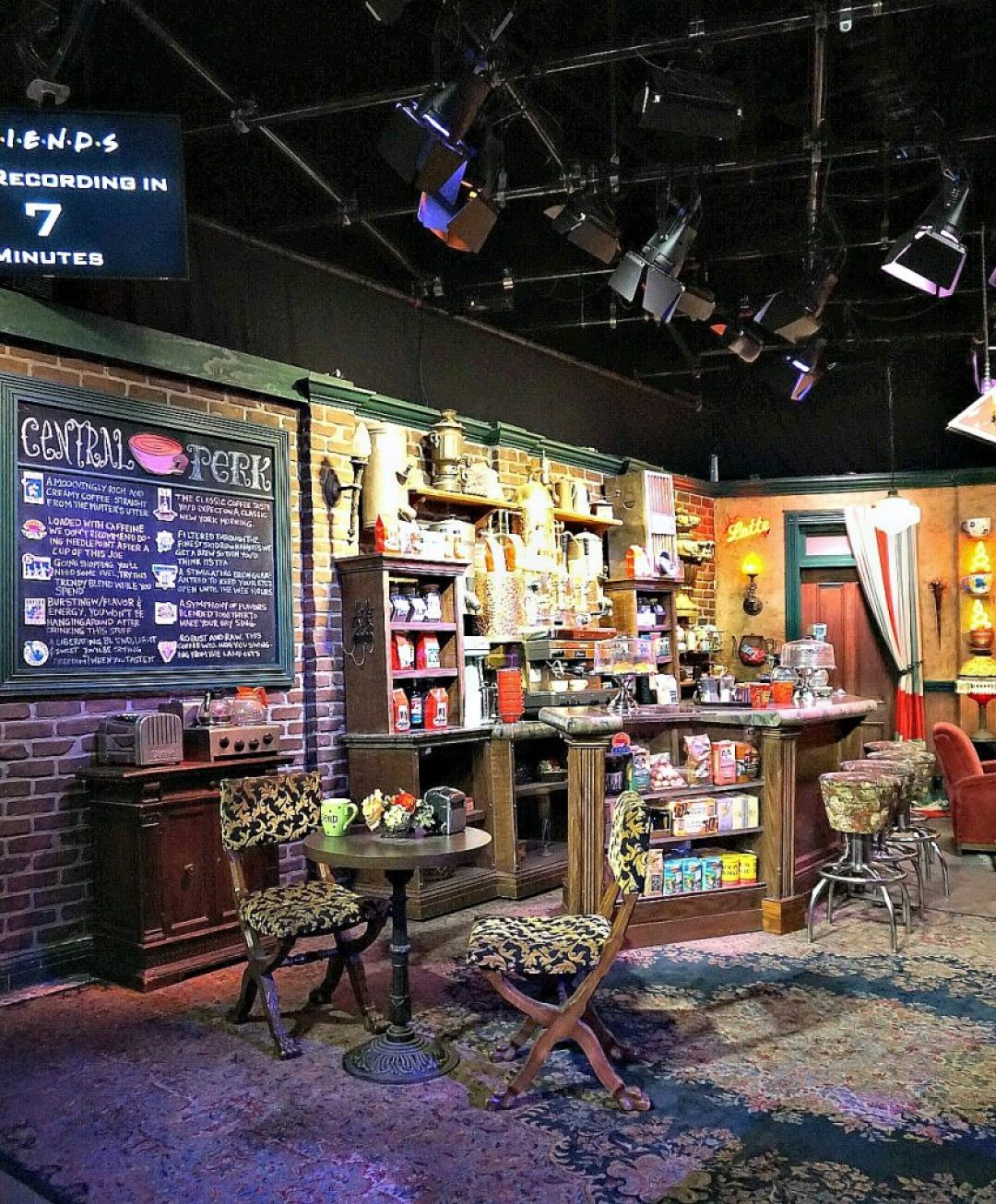 Record your own episode on the Friends set in California!