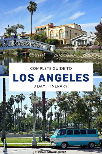 3 Days in Los Angeles Itinerary